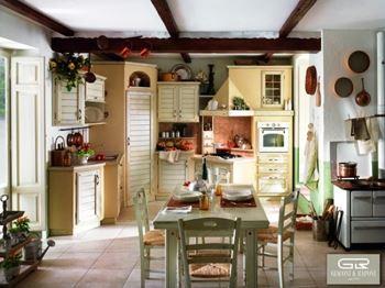GIACONI & RAPONI итальянская мебель для кухни