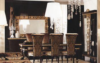Итальянские столы и стулья арт деко